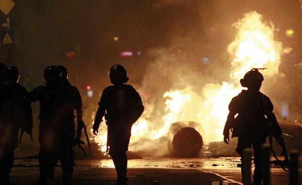 Rumunia: Potyczki protestujących z policją. 440 osób poszkodowanych