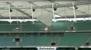 Runął dachu stadionu w Brazylii, jednej z aren mundialu