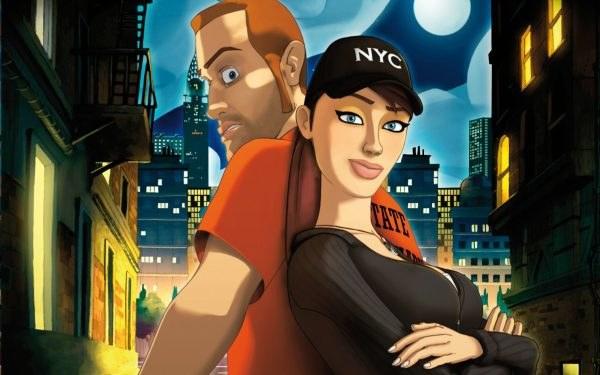 Runaway: A Twist of Fate - fragment okładki z gry /Informacja prasowa