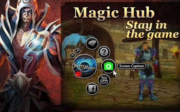 Runes of Magic i opcja Magic Hub /Informacja prasowa