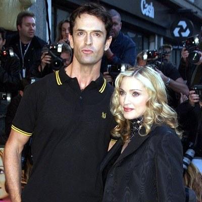 Rupert Everett i Madonna /arch. AFP
