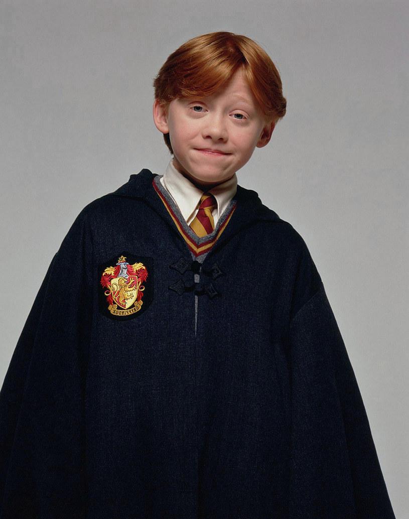 Rupert Griny jako Ron Wesley w serii o Harrym Potterze /1492 PICTURES/HEYDAY FILMS/WARNER BROS / Album/EAST NEWS /East News