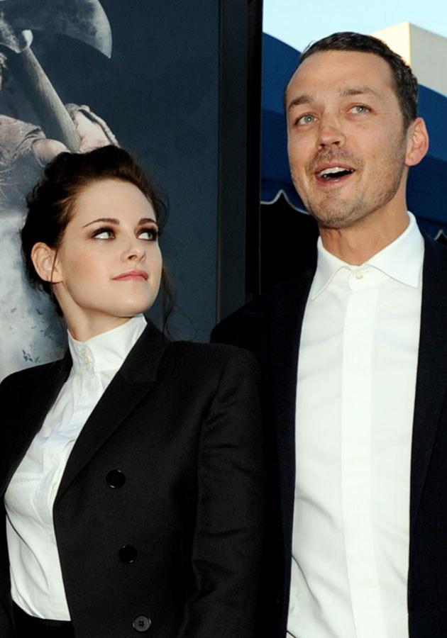 """Rupert Sanders i Kristen Stewart na premierze """"Królewny Śnieżki i Łowcy"""" /Kevin Winter /Getty Images"""