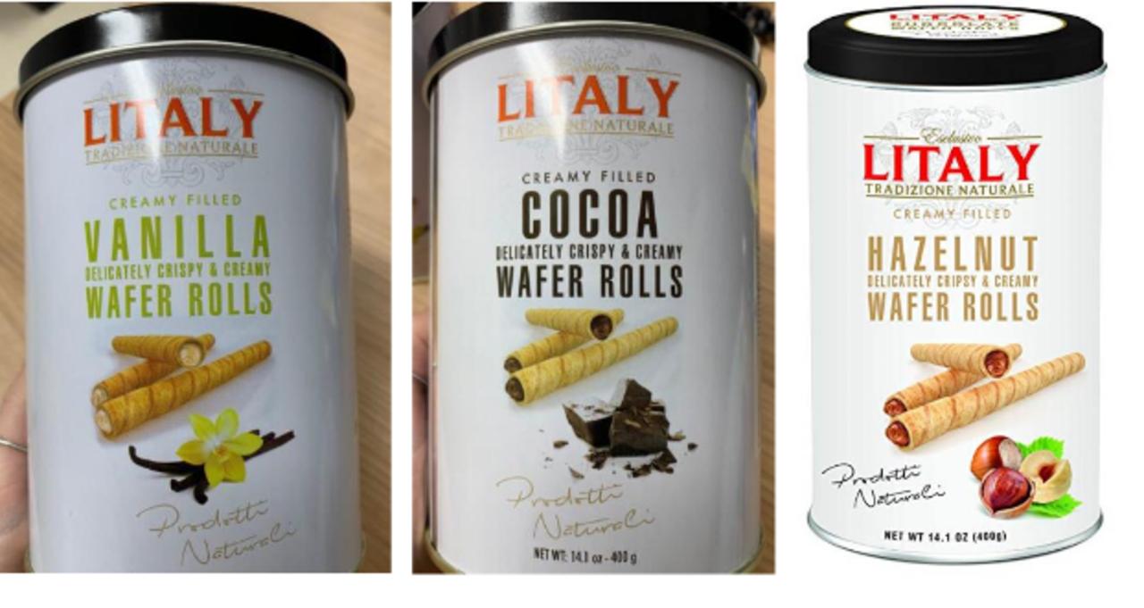 Rurki waflowe w trzech smakach wycofane ze sprzedaży. To decyzja inspektoratu sanitarnego