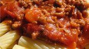 Rurki z mięsem i warzywami - w 45 minut