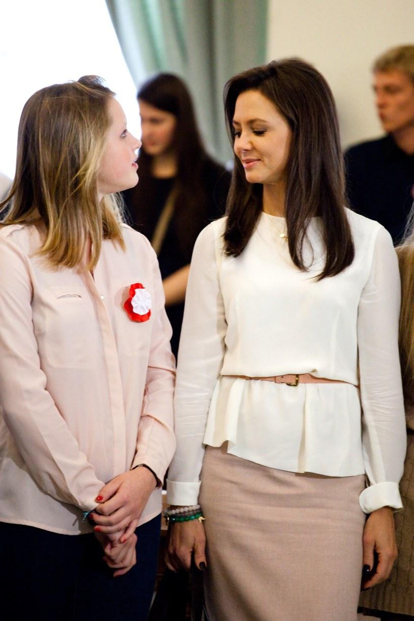 Rusin jest dumna z córki! /KAROL SEREWIS /East News