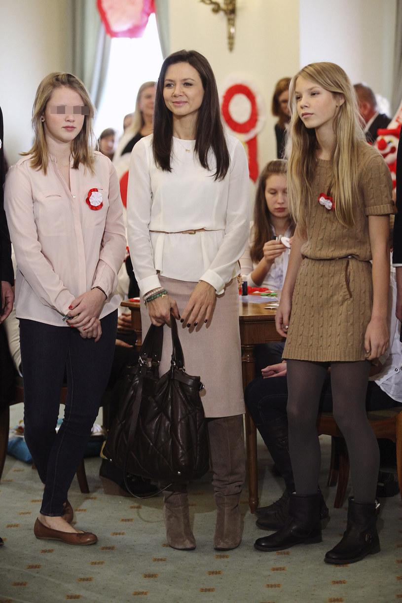 Rusin z córkami /- /East News