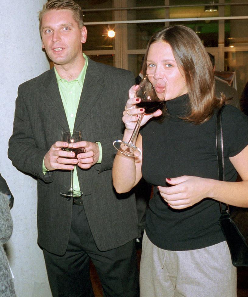 Rusin z tatą Poli, Tomaszem Lisem /East News