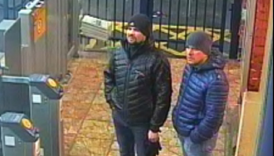 Rusłan Boszirow i Aleksandr Pietrow /LONDON METROPOLITAN POLICE    /PAP/EPA