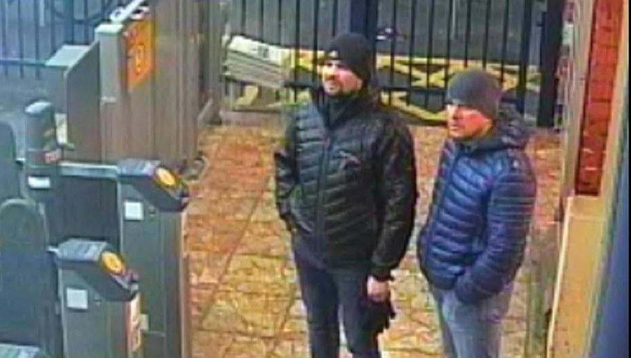 Rusłan Boszyrow i Aleksandr Pietrow /METROPOLITAN POLICE /PAP/EPA