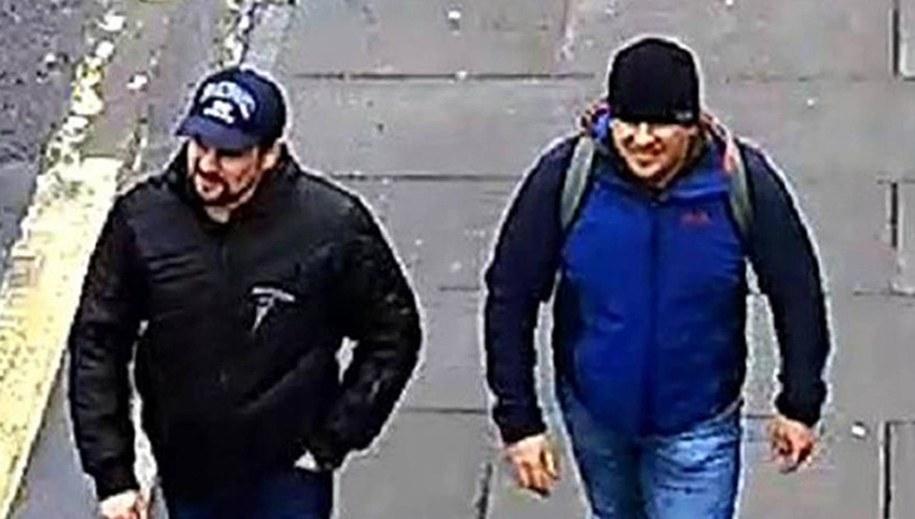 Rusłan Boszyrow (lub Anatolij Czepiga) oraz Aleksandr Pietrow /METROPOLITAN POLICE /PAP/EPA