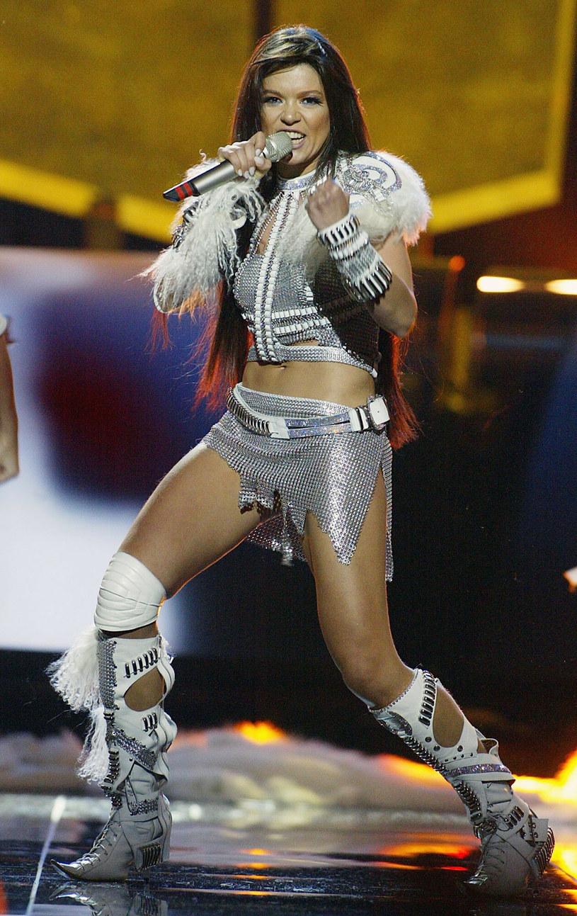 Ruslana zwyciężyła w Konkursie Piosenki Eurowizji w 2004 roku /Associated Press /East News