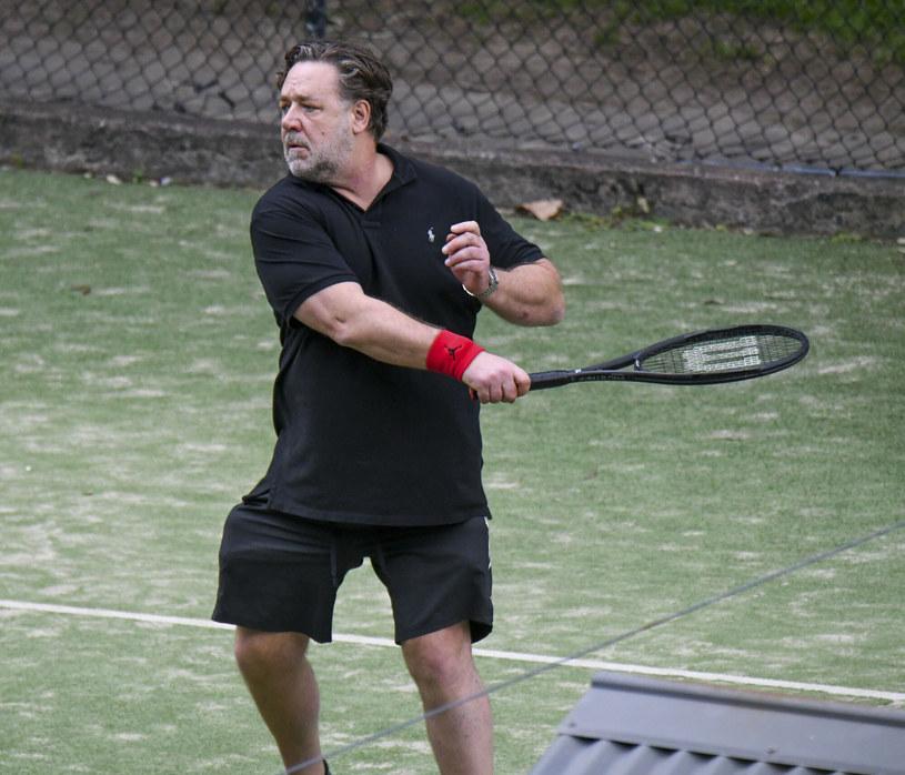 """Russel Crowe jest najbardziej znany z roli w filmie """"Gladiator"""" /Media-Mode / SplashNews.com/East News /East News"""