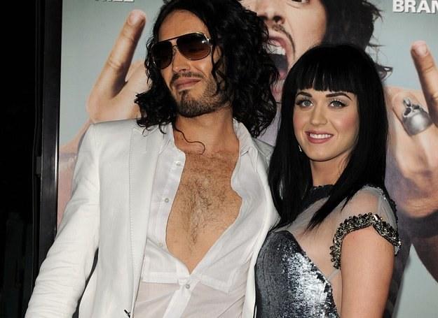 Russell Brand i Katy Perry wzięli ślub w Indiach - fot. Kevin Winter /Getty Images/Flash Press Media