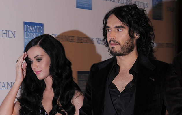 Russell Brand upokorzył Katy Perry! /Michael Loccisano /Getty Images