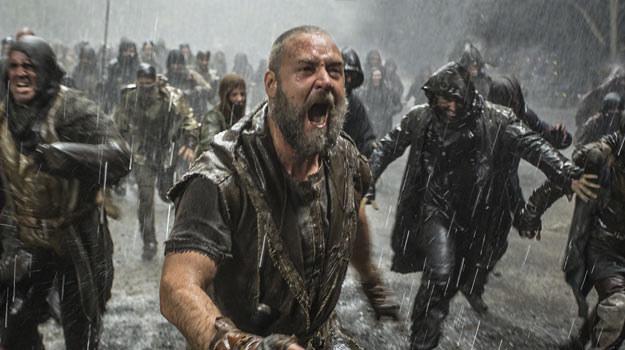 Russell Crowe jako biblijny prorok Noe. /materiały dystrybutora