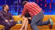 Russell Crowe pocałował Elizabeth Hurley