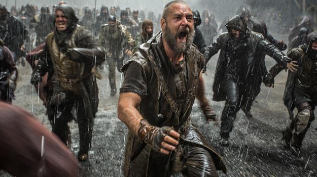 """Russell Crowe w scenie z filmu """"Noe: Wybrany przez Boga"""" /materiały dystrybutora"""