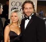 Russell Crowe z żoną /INTERIA.PL