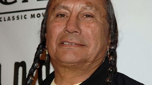 Russell Means był nie tylko aktorem, lecz również aktywistą na rzecz praw Indian - fot. S.Shugerman /Getty Images/Flash Press Media
