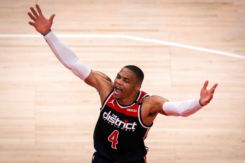 Russell Westbrook po jednym sezonie opuszcza swoich kolegów z drużyny Wizards /Casey Sykes/Getty AFP/East News /East News