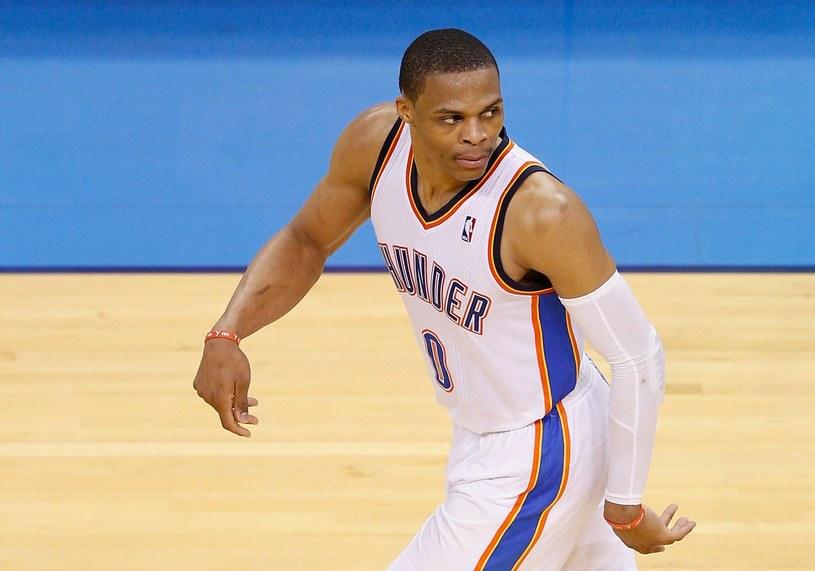 Russell Westbrook zdobył 40 punktów dla Oklahoma City Thunder. /AFP