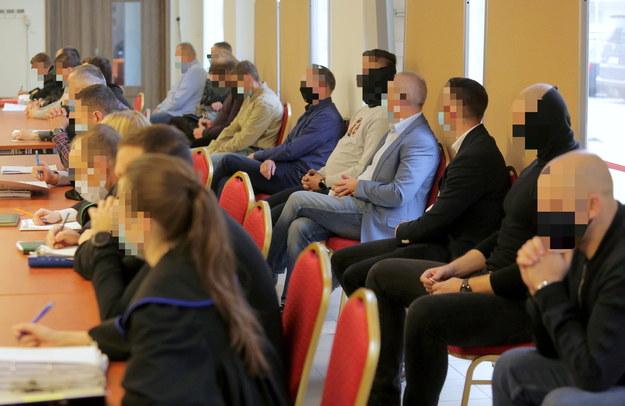 Ruszył proces siedemnastu policjantów /Tomasz Waszczuk /PAP