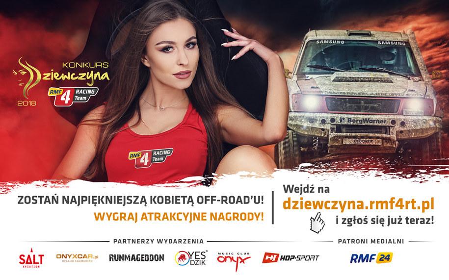 Ruszyła 5. edycja konkursu na Dziewczynę RMF 4RACING Team! /materiały prasowe /