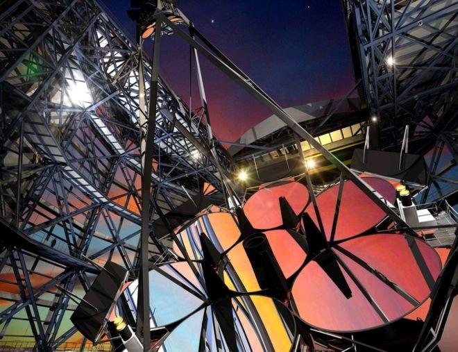Ruszyła budowa największego teleskopu optycznego na świecie /materiały prasowe