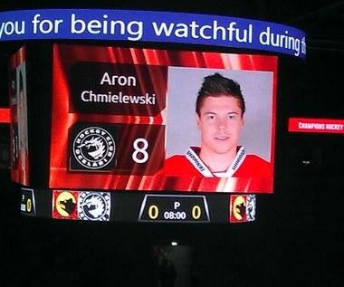 Ruszyła hokejowa Liga Mistrzów z Aronem Chmielewskim