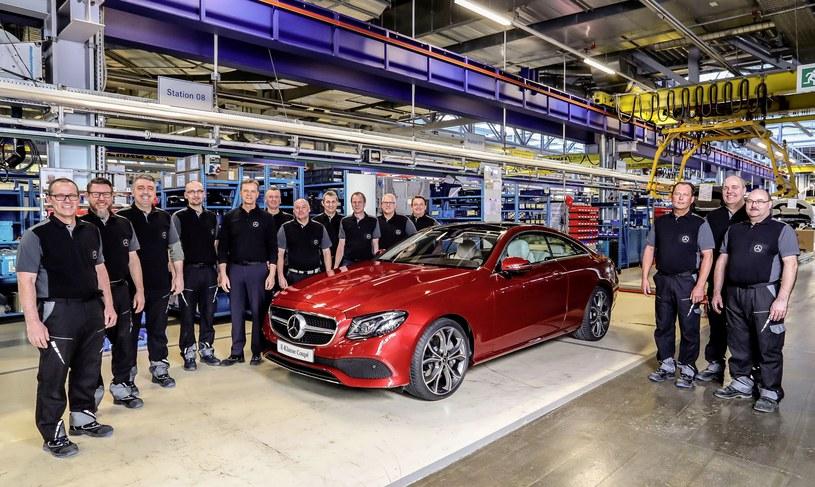 Ruszyła produkcja Mercedesa klasy E Coupe /