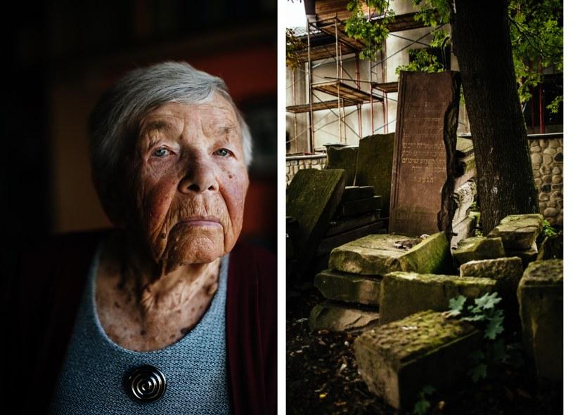 Ruta Wermuth i pozostałości po cmentarzu żydowskim w Kołomyi. Fot. Maciej Stanik/Wirtualna Polska /