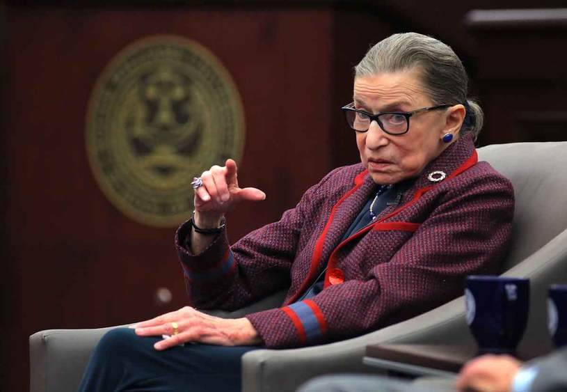 Ruth Bader Ginsburg /Getty Images