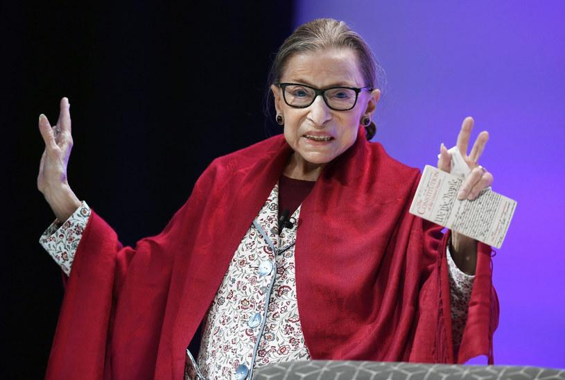 Ruth Bader Ginsburg /FR125654 AP/Associated Press /East News