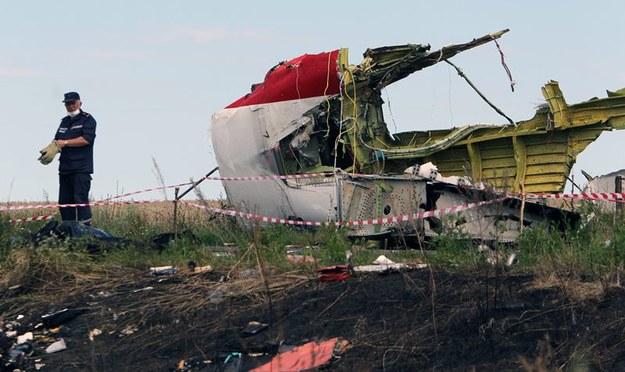 Rutte: Pociąg ze zwłokami ofiar powinien być pod kontrolą władz Ukrainy
