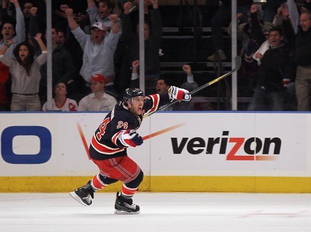 Ryan Callahan z New York Rangers /AFP