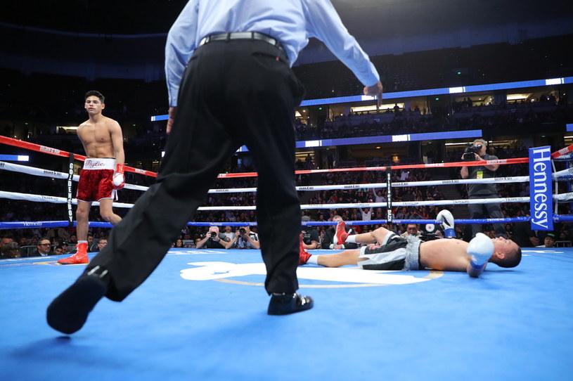 Ryan Garcia (z lewej) i Francisco Fonseca /Getty Images