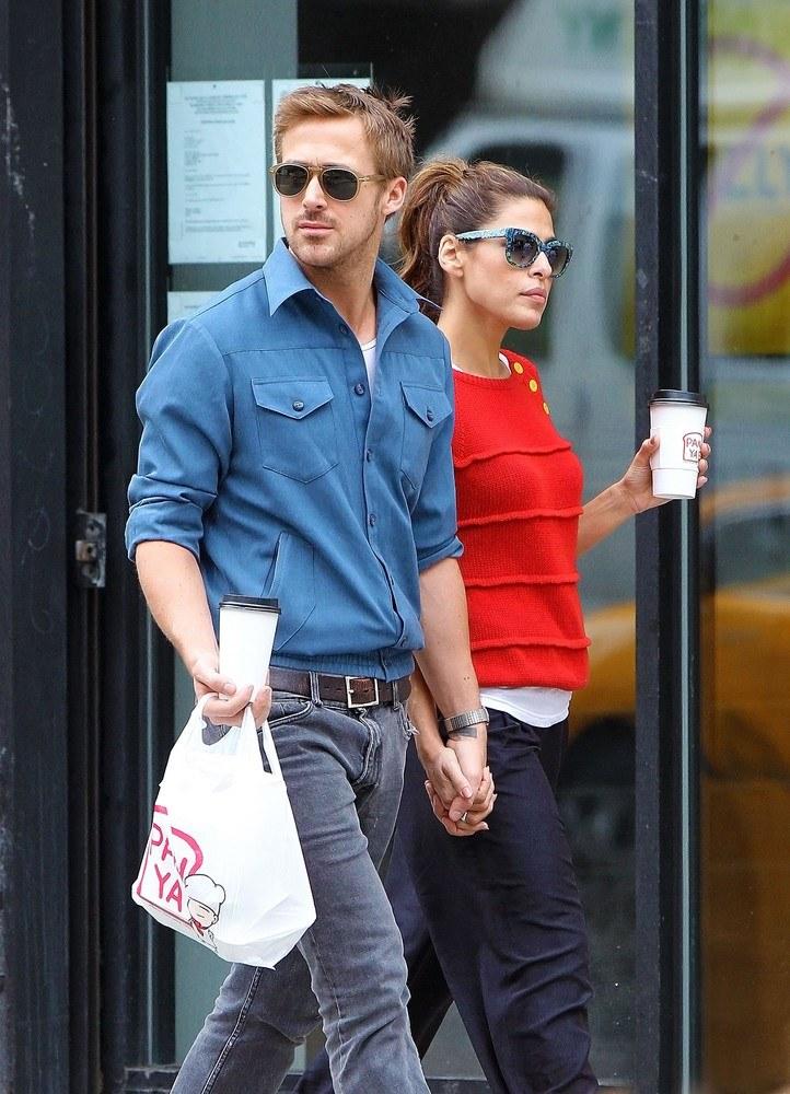 Ryan Gosling i Eva Mendes /- /East News