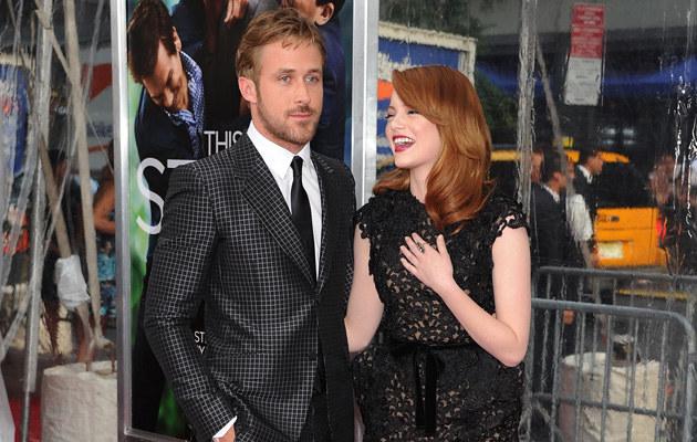 Ryan Gosling pracuje z Emmą Stone już nad trzecim filmem /Jason Kempin /Getty Images