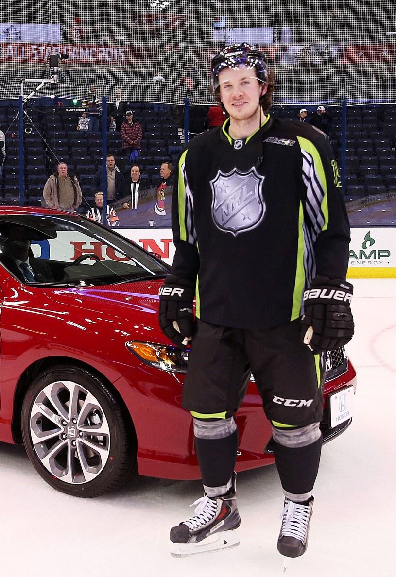 Ryan Johansen został najwartościowszym zawodnikiem Meczu Gwiazd NHL /AFP