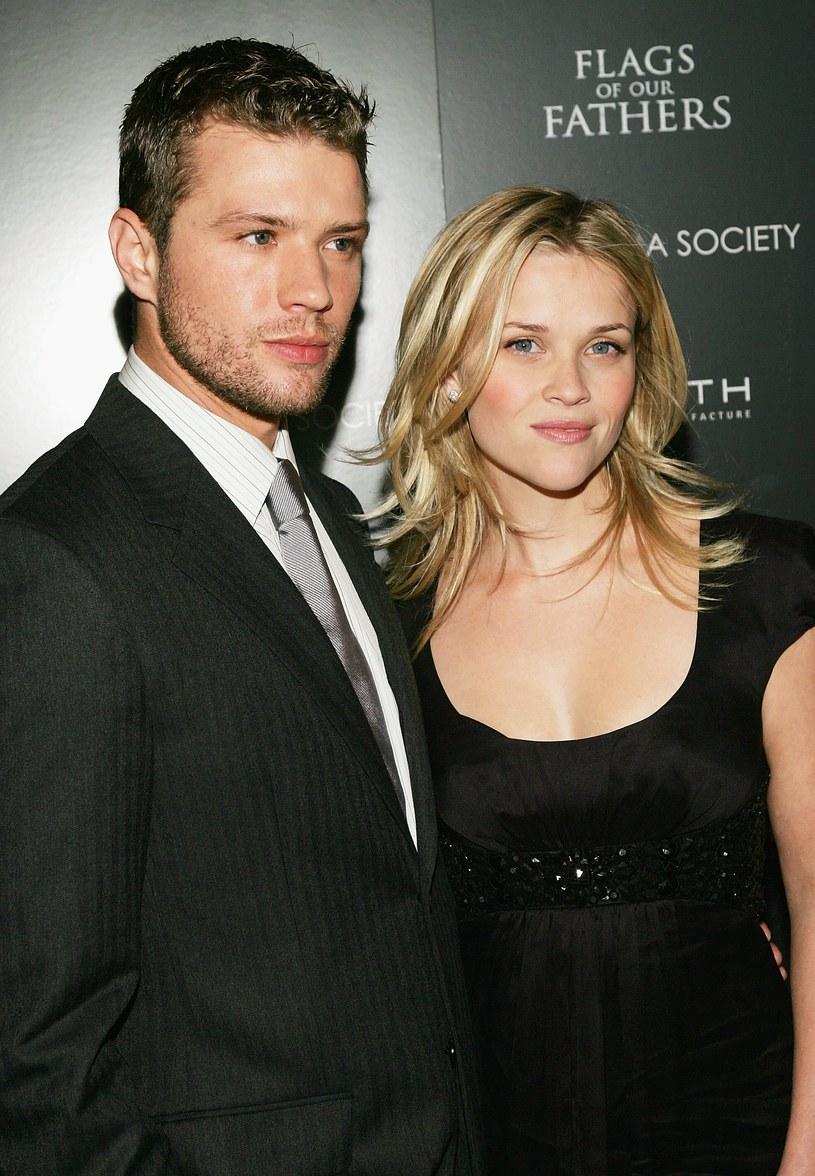 Ryan Phillippe z byłą żoną, Reese Witherspoon /Evan Agostini /Getty Images
