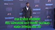 Ryan Reynolds człowiekiem roku 2017