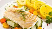 Ryba pieczona w sosie warzywnym