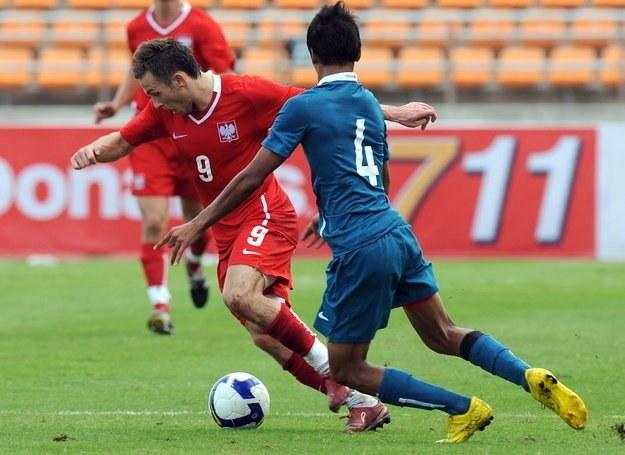 Rybus w meczu z Singapurem /AFP