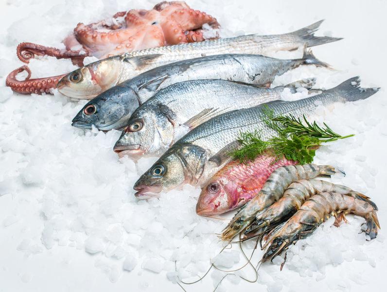 Ryby i owoce morza /©123RF/PICSEL