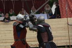 Rycerze już walczą pod Grunwaldem