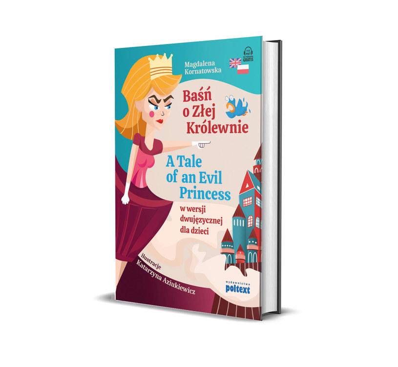 Rymowana opowieść o nieczułej królewnie została przygotowana tak, by dzieci mogły czytać i przy okazji uczyć się języka angielskiego /materiały prasowe