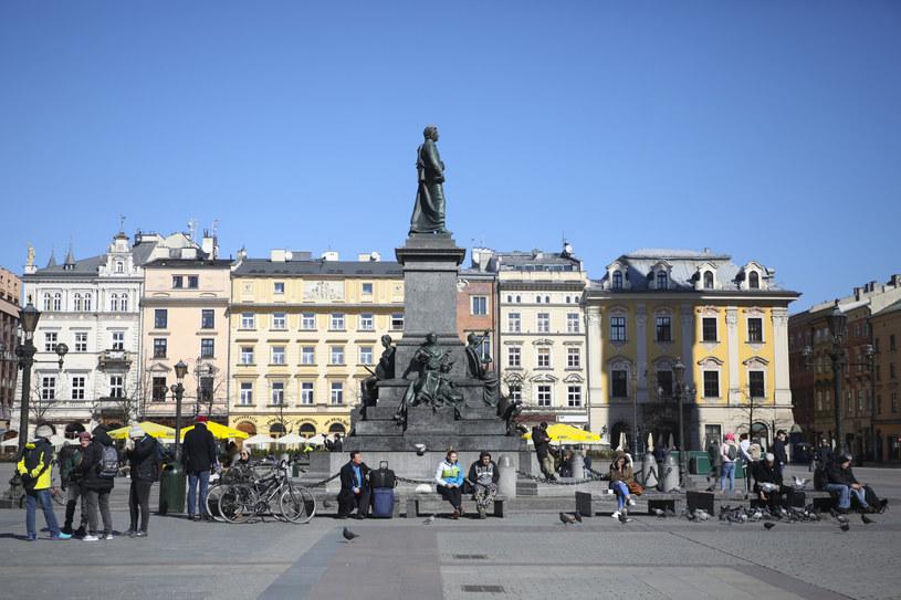 Rynek Główny w Krakowie; zdj. ilustracyjne /Beata Zawrzel /Reporter