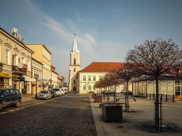 Rynek główny w Oświęcimiu /Archiwum Kalbar /PAP/EPA