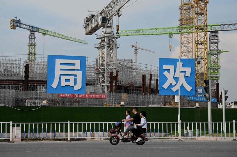 Rynek nieruchomości może ucierpieć na kryzysie w Chinach? /AFP